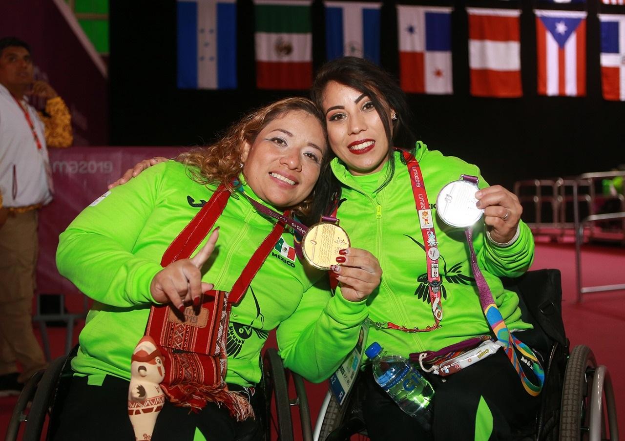 Realiza Mayra Hernández levantamiento de plata en Juegos Parapanamericanos