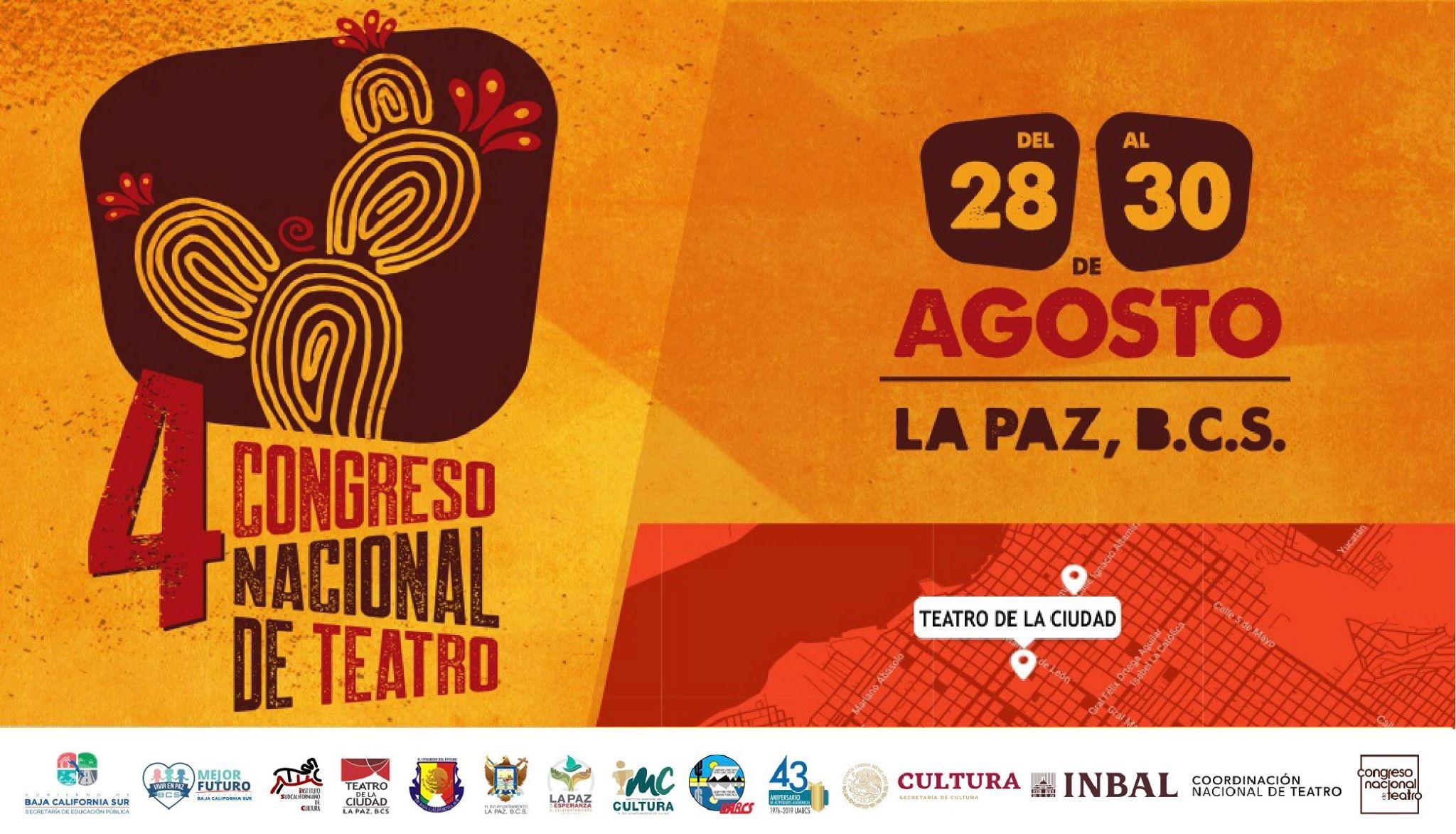 Reúne el Cuarto Congreso Nacional de Teatro en Baja California Sur a exponentes y creadores escénicos