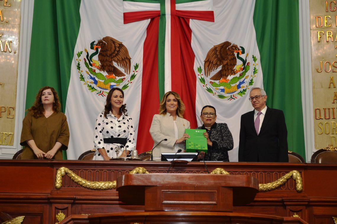 El Congreso local recibió el Primer Informe de Labores del Gobierno CDMX