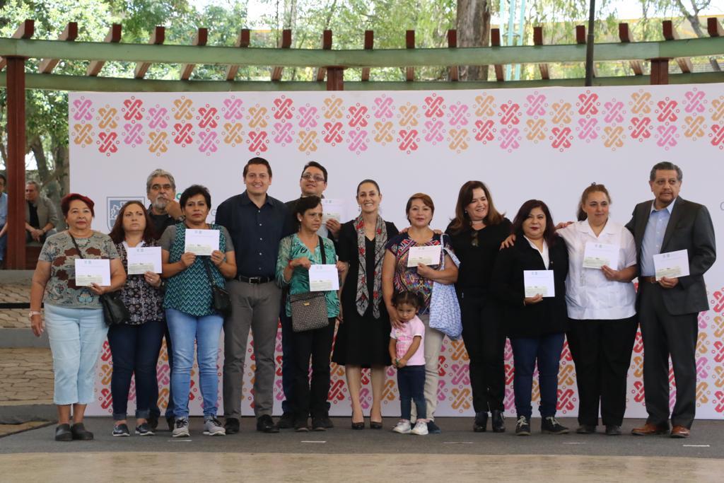 Entrega Gobierno CDMX 11 mdp para rescatar 117 unidades habitacionales en Cuauhtémoc