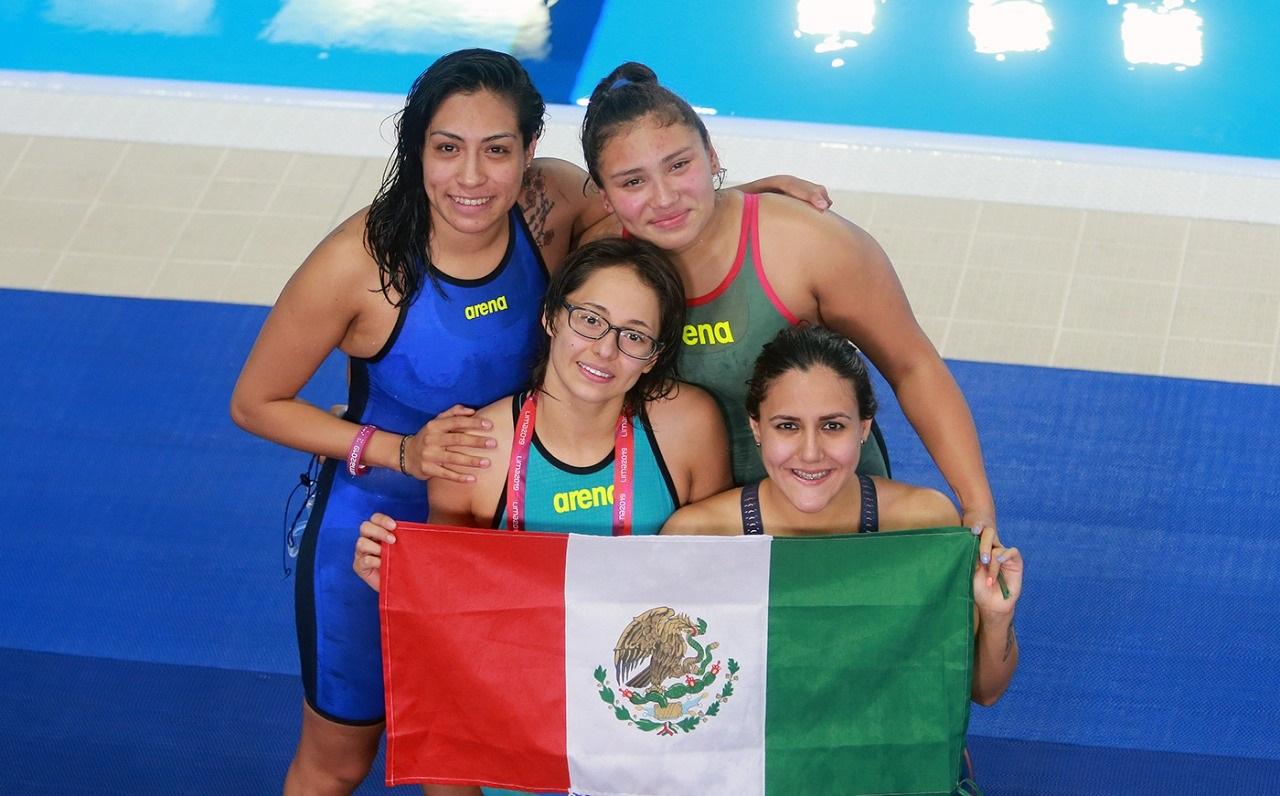 Tiene México cierre dorado en la para natación de Lima 2019