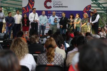 Con actividades culturales la Alcaldía Cuauhtémoc trabaja en la prevención del delito