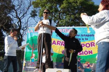 Tres Mil Participantes celebraron la Carrera por la Inclusión en Iztapalapa