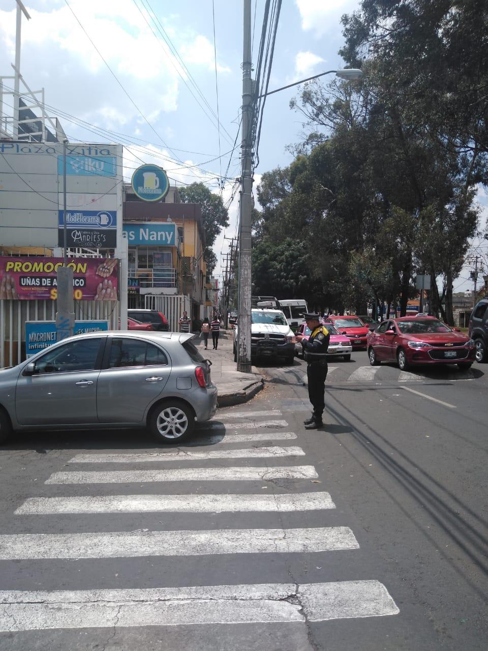 SSC implementó en la Alcaldía Coyoacán un dispositivo de recuperación de espacios y vialidades