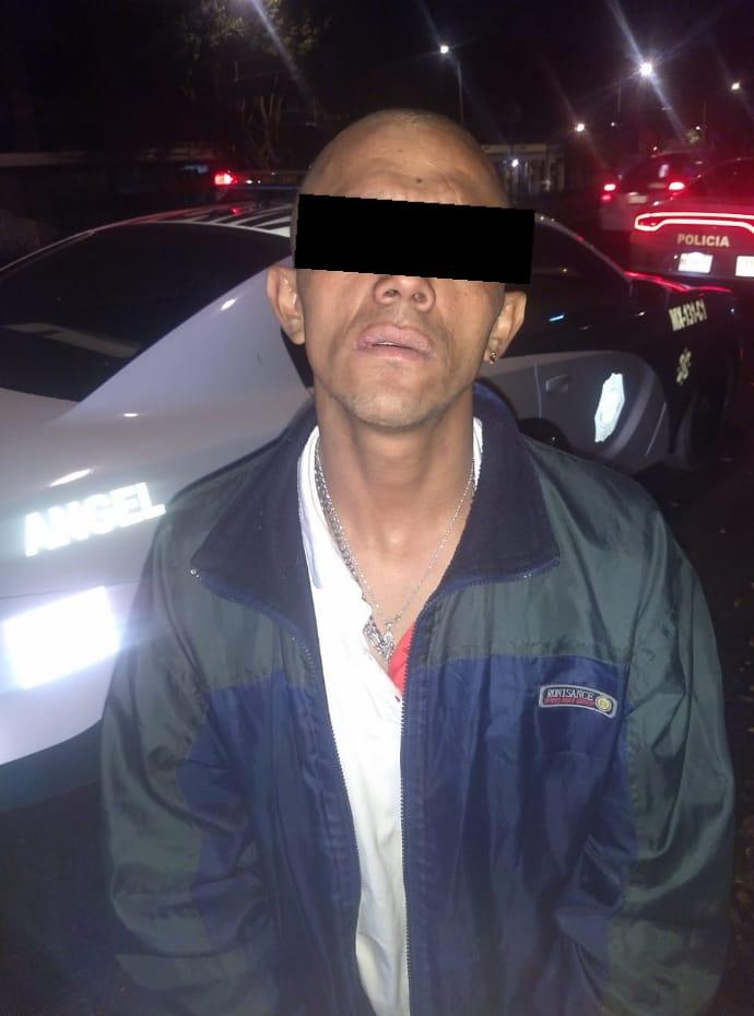 En tres distintas acciones Policías de la SSC detienen a tres personas por presunto robo a negocio en la Alcaldía Cuauhtémoc