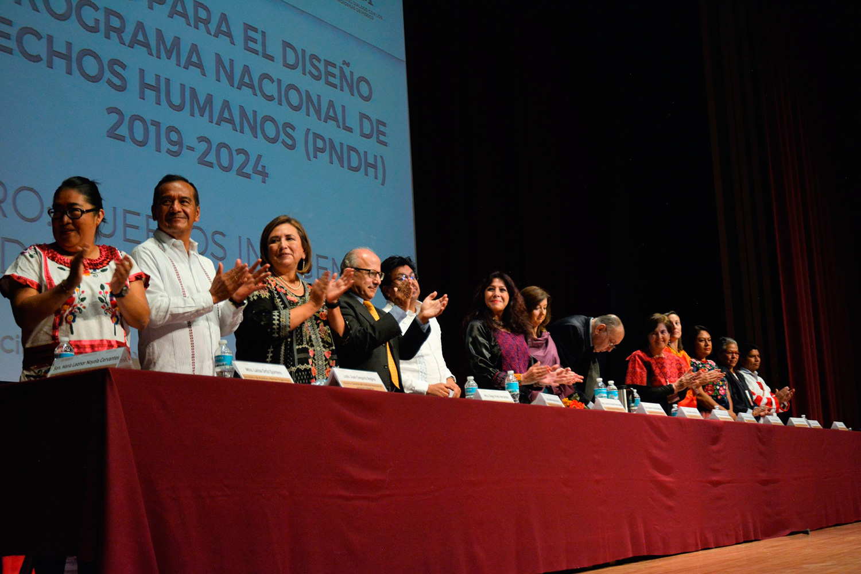 Los pueblos indígenas y afromexicano diseñan su agenda para el Programa Nacional de Derechos Humanos