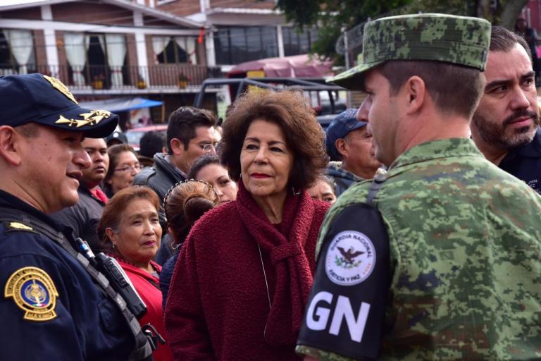 La Guardia Nacional llega a Tlalpan