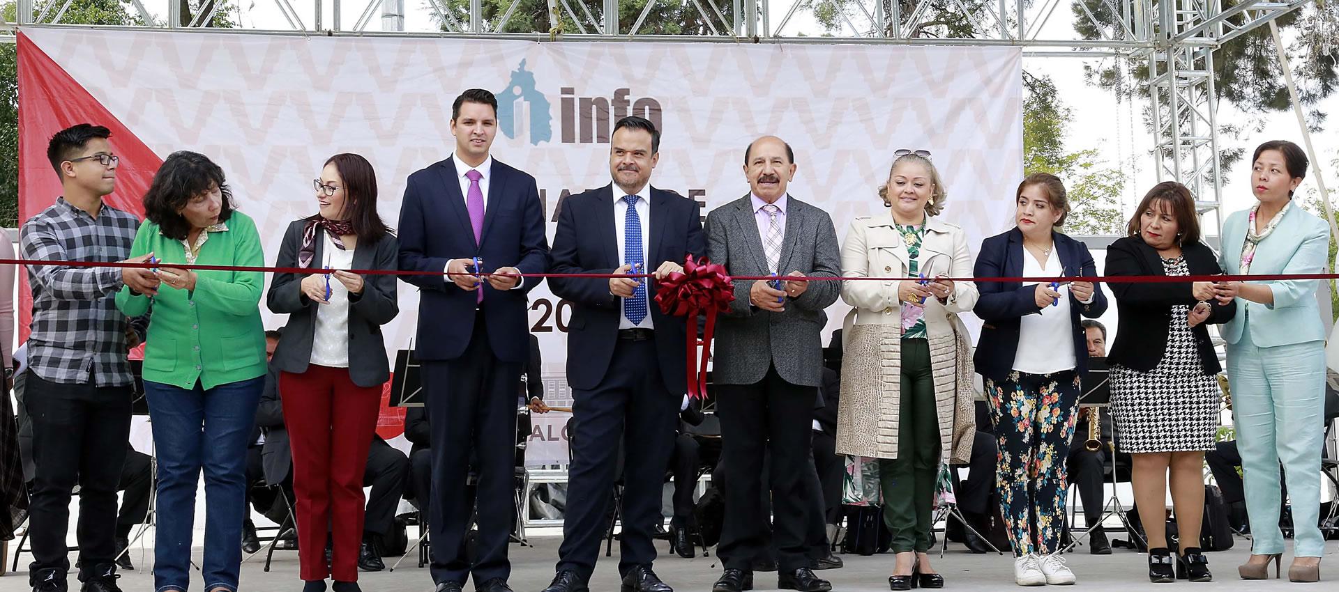 Se inaugura la Jornada por la Transparencia en la Alcaldía Iztacalco