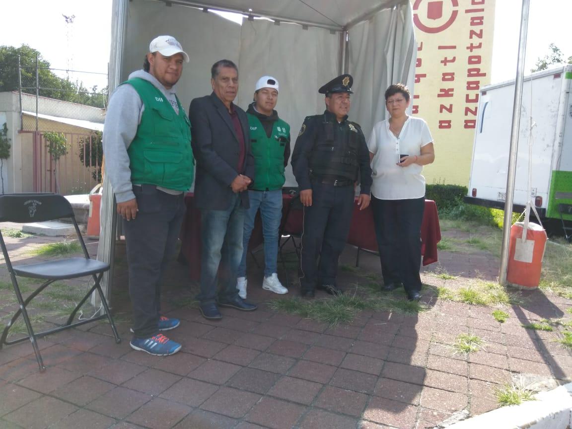 SSC y DIF capitalino realizan Jornada de Salud en la Alcaldía Azcapotzalco