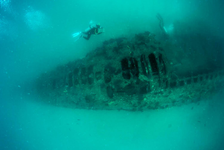 Arqueólogos del INAH registran submarino de la Primera Guerra Mundial hundido en aguas mexicanas