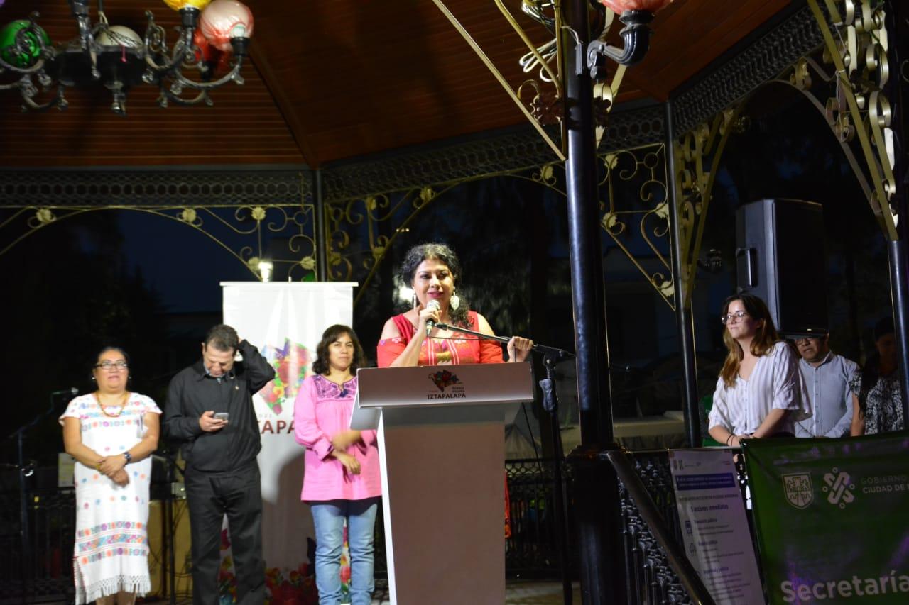 Conmemora Alcaldía Iztapalapa y Dependencias Capitalinas Día Internacional de las Mujeres Indígenas