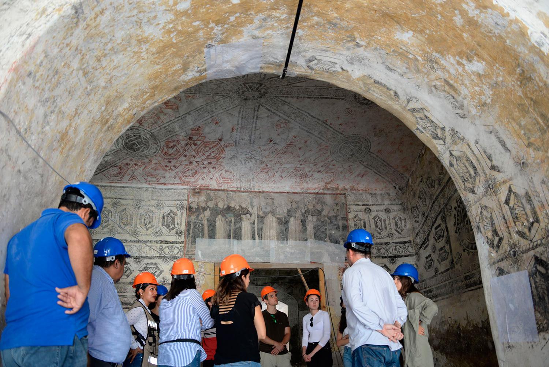 Especialistas de Hungría se suman a la recuperación de inmuebles históricos afectados por sismos