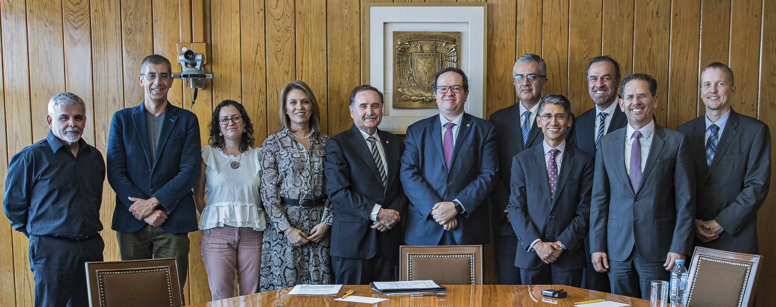 Signan Convenio UNAM y BOSCH para impulsar el talento Joven