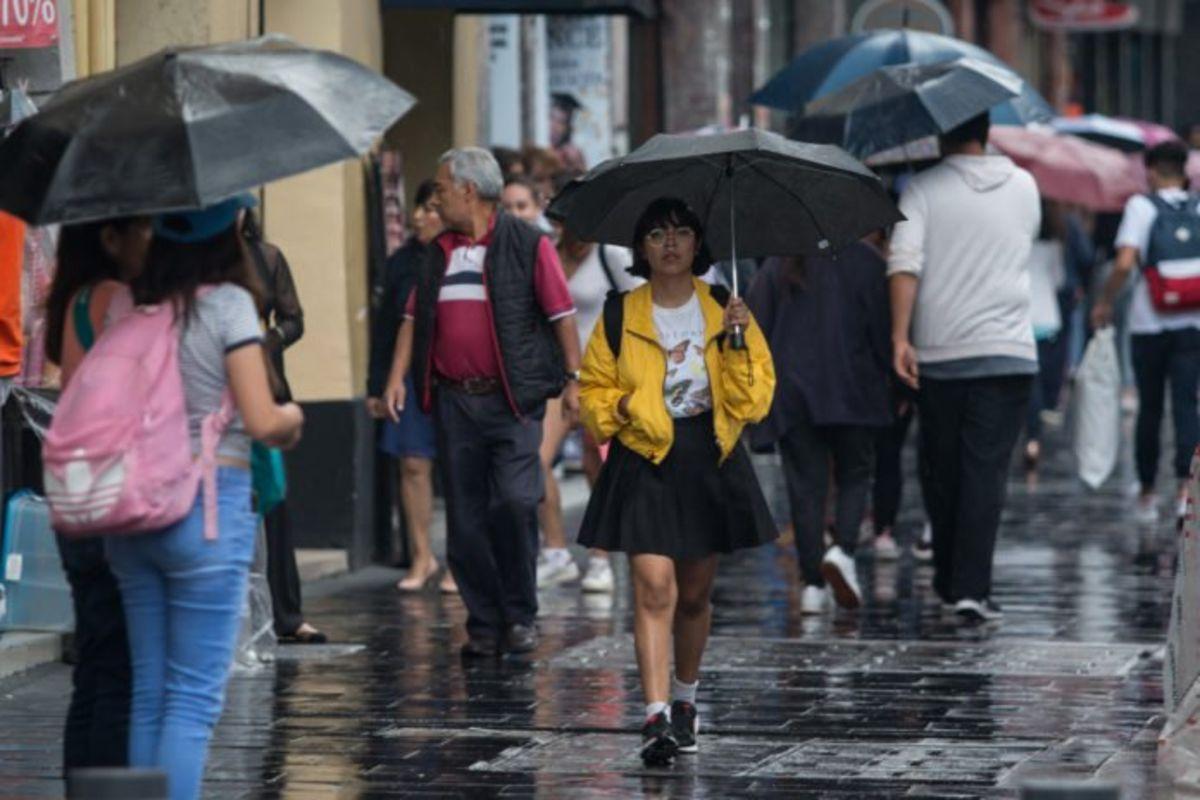 Se prevén lluvias fuertes al Sur y Oriente de la Capital