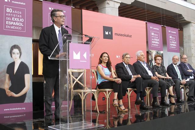 El Museo Kaluz alberga la muestra 80 años. Artistas del exilio español en México