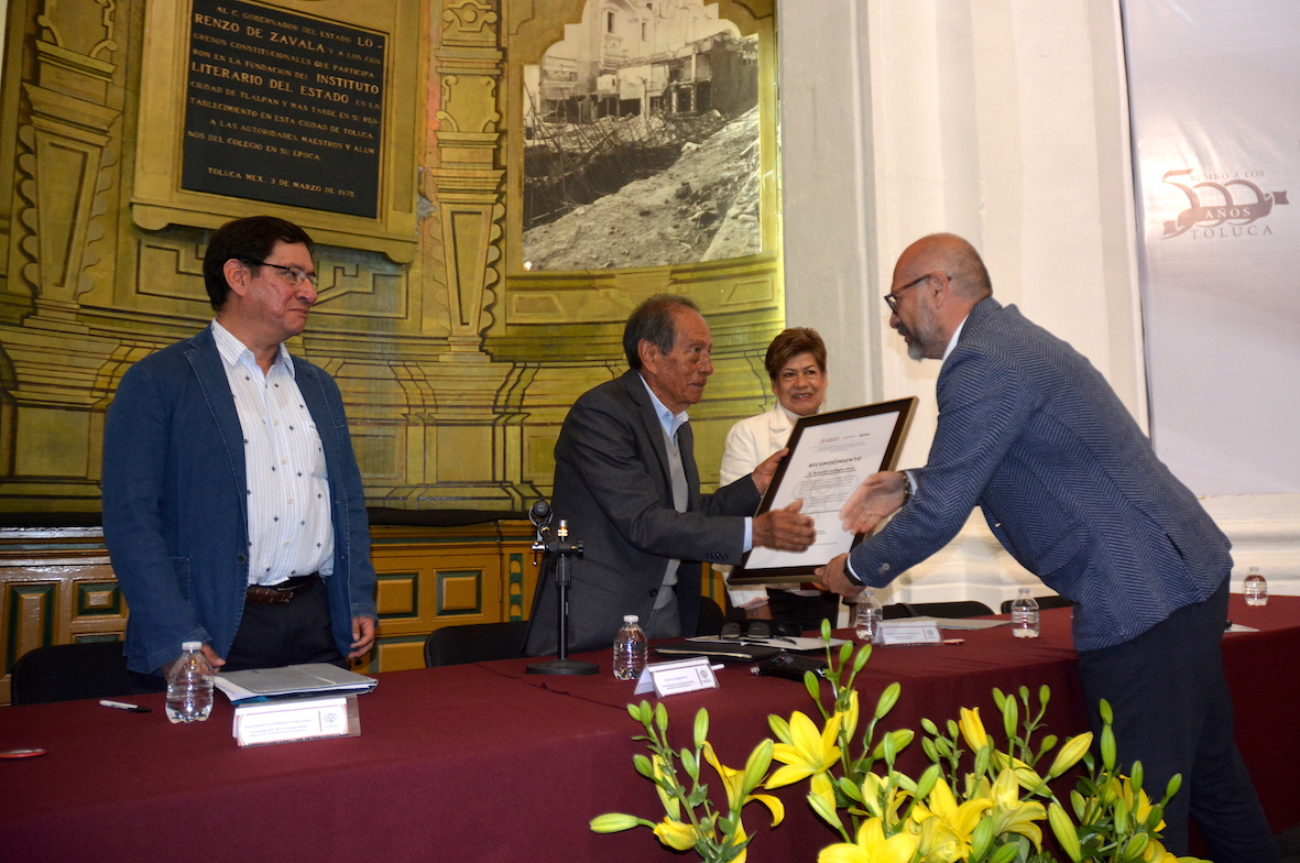 Con homenaje al arqueólogo Roberto Gallegos inician actividades por los 40 años del Centro INAH Edomex