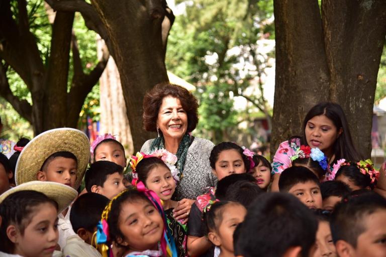 Tlalpan brinda salud y bienestar a la niñez