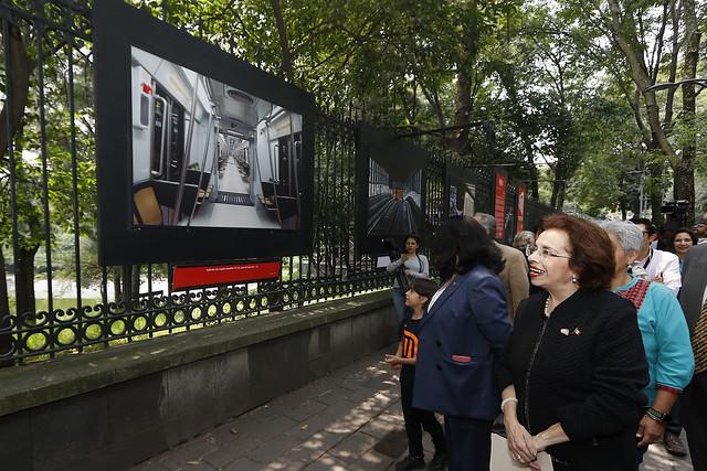 Rejas de Chapultepec ofrece viaje por la historia del Metro