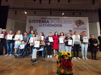 Arranca en Iztapalapa el Primer Sistema Público de Cuidados en Beneficio de Mujeres Cuidadoras de Personas