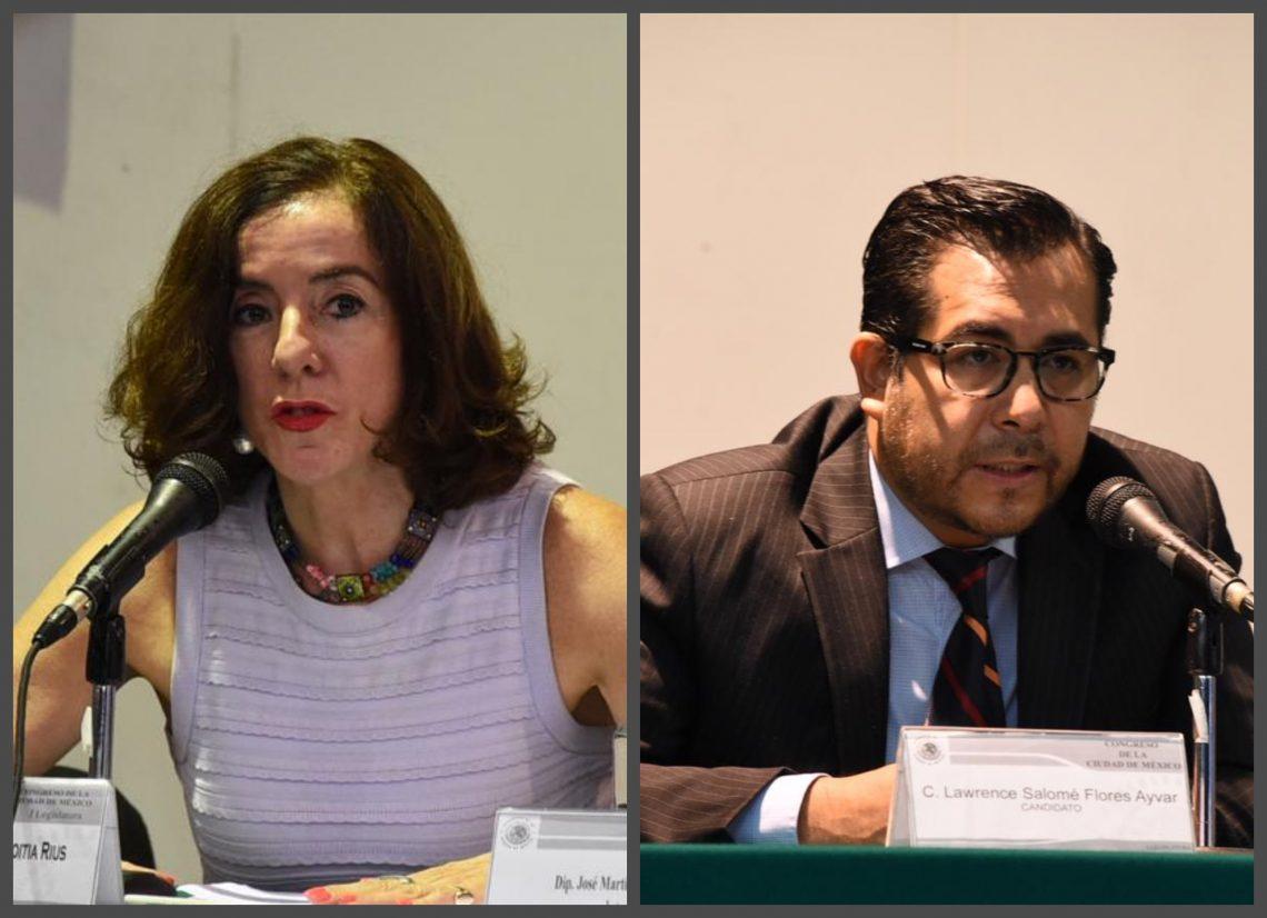 Entrevistan diputados a candidatos a reelegirse como consejeros honorarios de la CDHCM