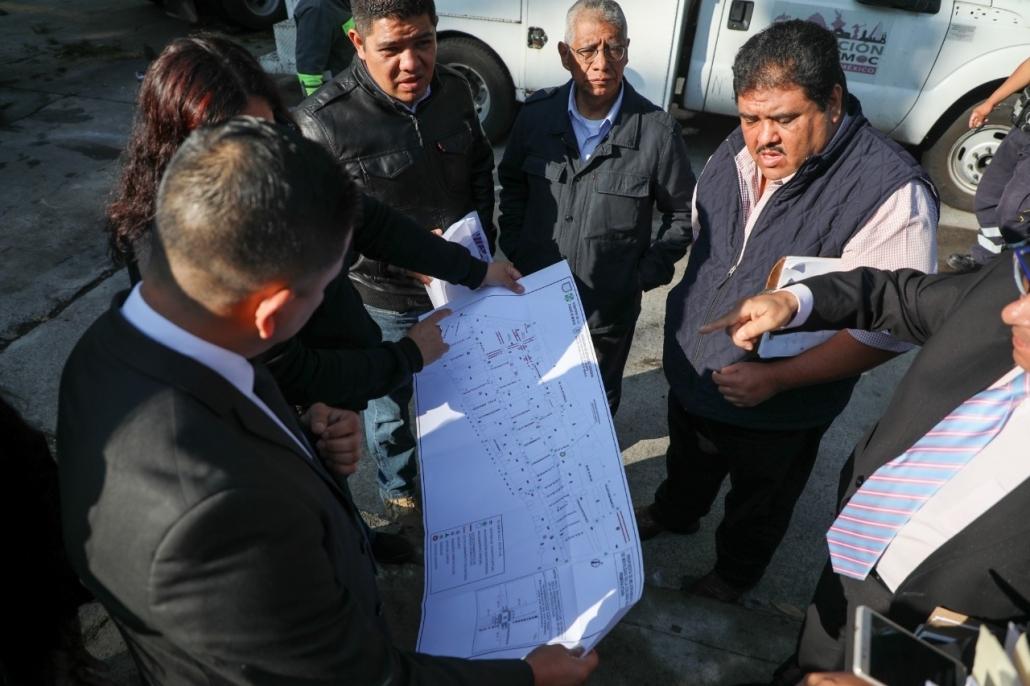 Detienen en Cuauhtémoc a cuatro hombres por robo a transeúnte con violencia