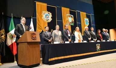 El canciller Marcelo Ebrard inaugura la IV Cumbre de Rectores México-Japón