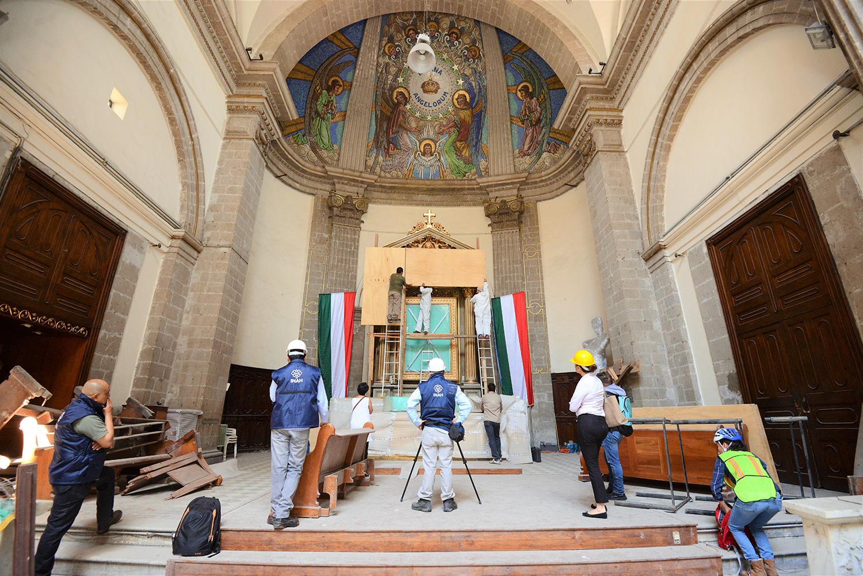 Diseñan propuesta para restaurar Templo de Nuestra Señora de los Ángeles en la Guerrero