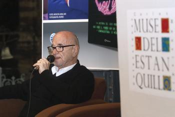 Presenta Henri Donnadieu en el Museo del Estanquillo su libro La noche soy yo
