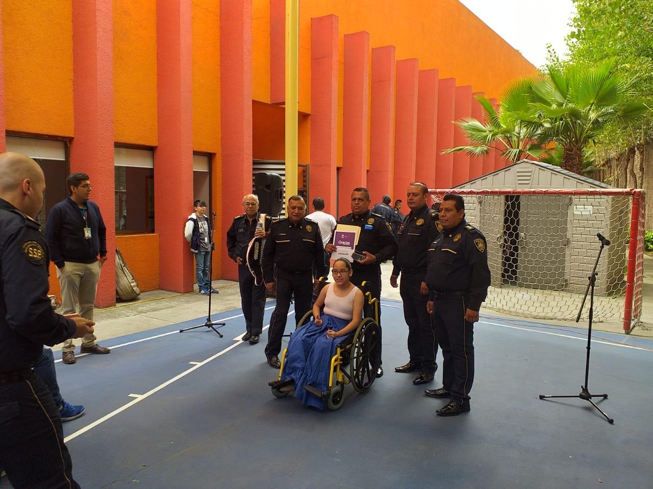 Mariachi Nueva Guardia Nacional de la SSC se presenta en instalaciones del Teletón