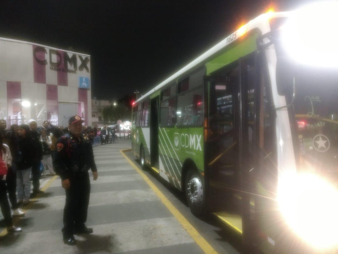 SSC despliega Dispositivo Pasajero Seguro en inmediaciones del CETRAM La Raza y Politécnico