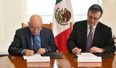 La SRE y la ASF acuerdan fiscalización de ayuda a Mesoamérica y el Caribe (Fondo México)