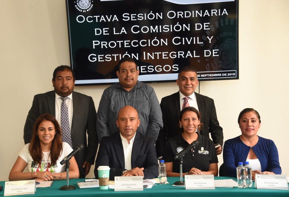 El Congreso de la Ciudad de México participará en el macro simulacro