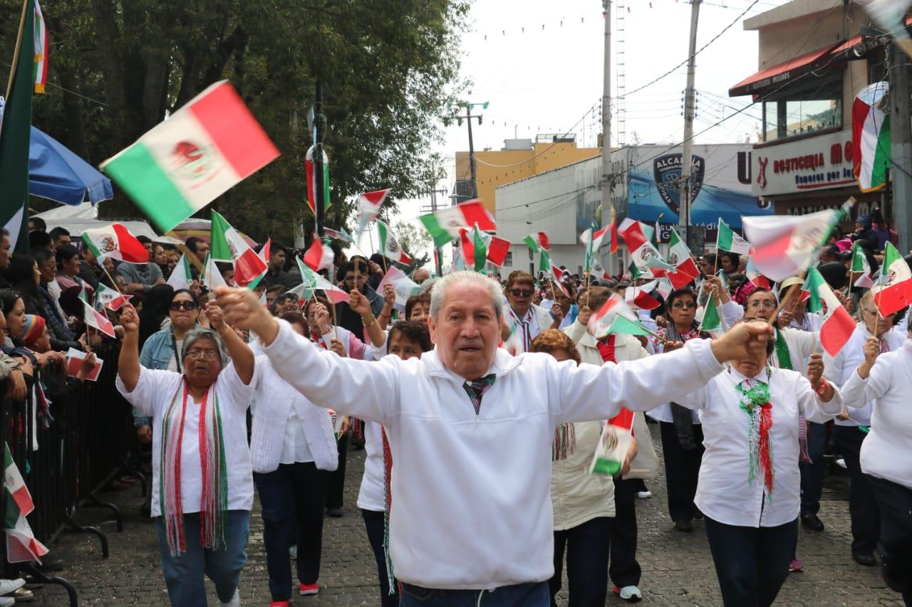 MÁS DE 16 MIL ASISTENTES ACUDIERON A LA CELEBRACIÓN DEL CCIX ANIVERSARIO DE LA INDEPENDENCIA DE MÉXICO EN CUAJIMALPA