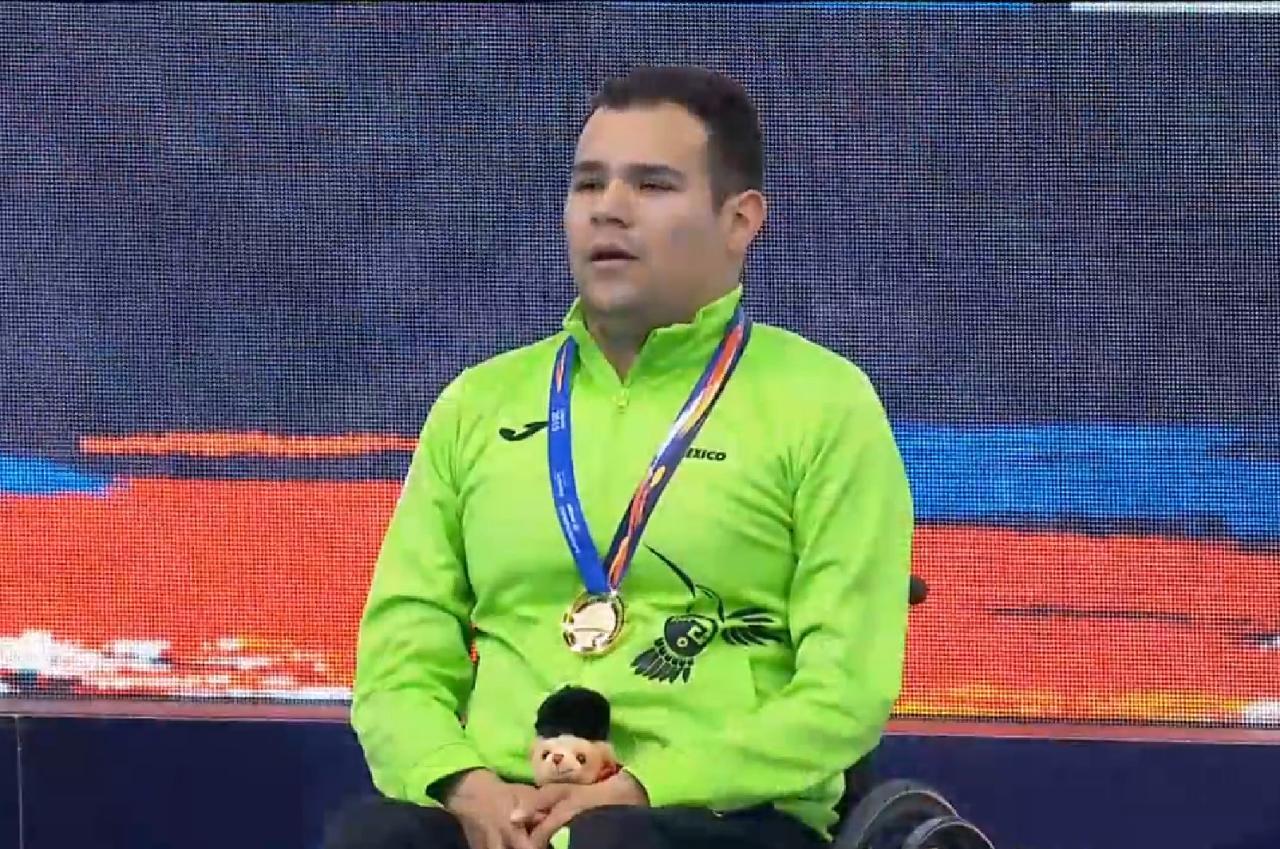 Broche dorado para Diego López en Mundial de Para Natación Londres 2019
