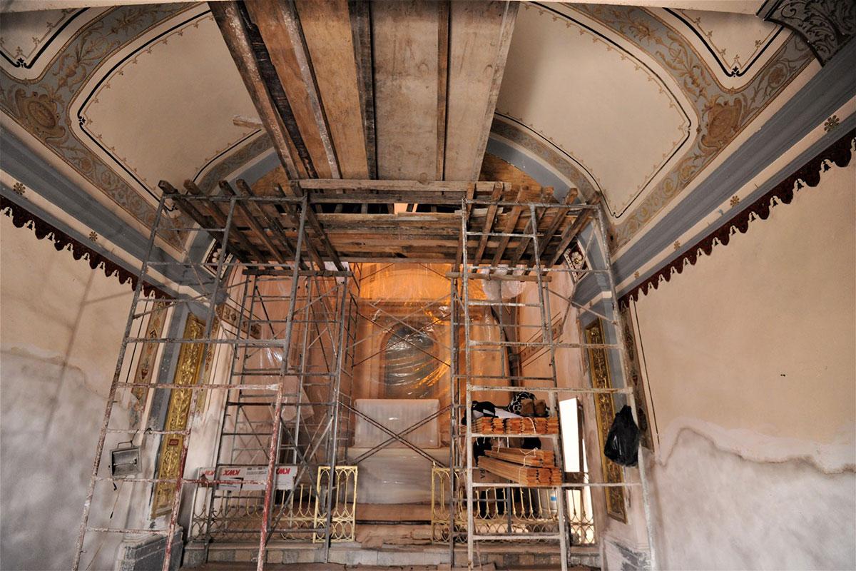 Capilla del Divino Salvador en Xochimilco restaurada en 50 por ciento