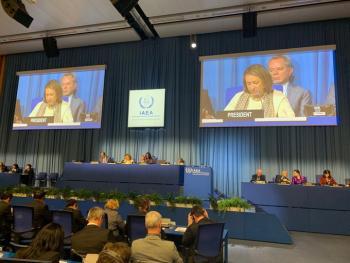 México asume la presidencia de la 63a Conferencia General del Organismo Internacional de Energía Atómica (OIEA)
