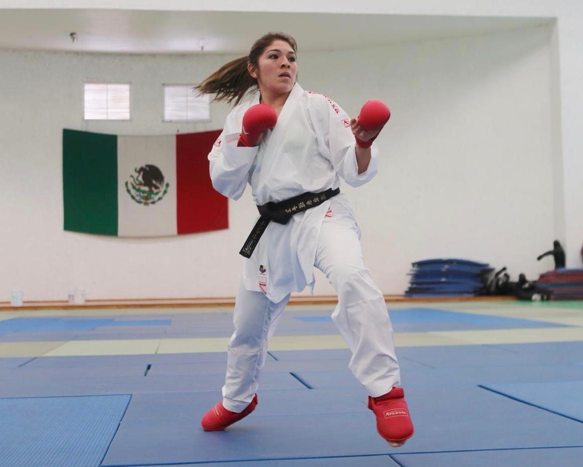 Buscará Lupita Quintal sumar puntos en la Serie A de Karate