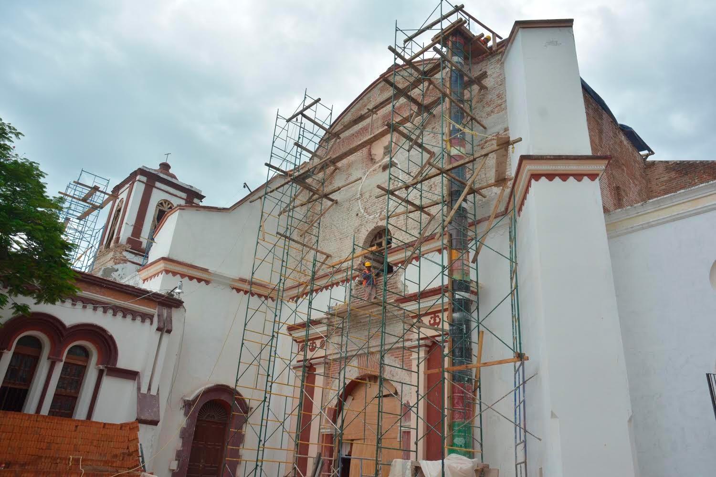 Tehuantepec y Juchitán, en Oaxaca, permanecen de pie en la recuperación de su patrimonio edificado