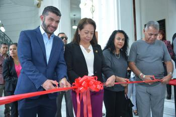 Inauguran en el Congreso CDMX la muestra fotográfica 19-S el día que la tragedia nos unió