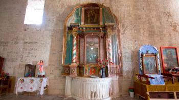 100 por ciento terminada la restauración de retablo lateral y pintura de la Virgen de la Luz, del templo de San Juan Teposcolula, Oaxaca