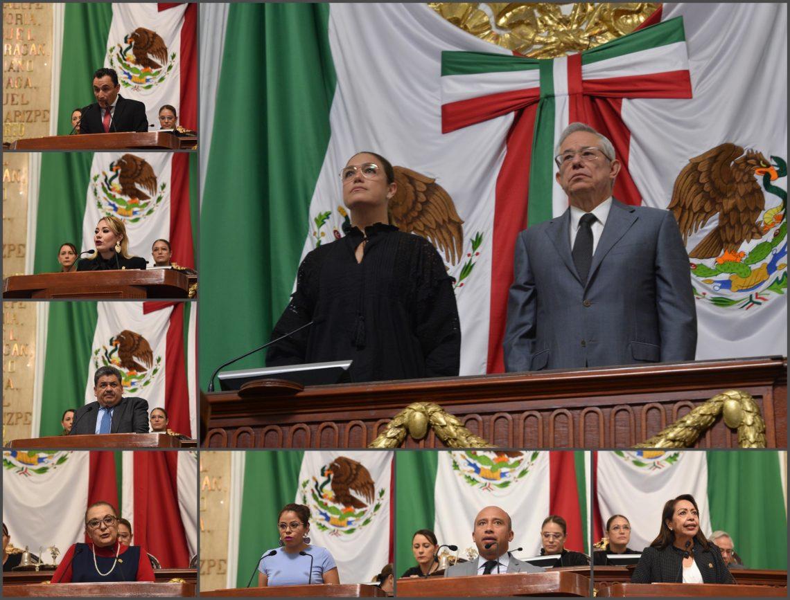 Honran en Sesión Solemne a víctimas y voluntarios que ayudaron en los sismos del 19 de septiembre de 1985 y 2017