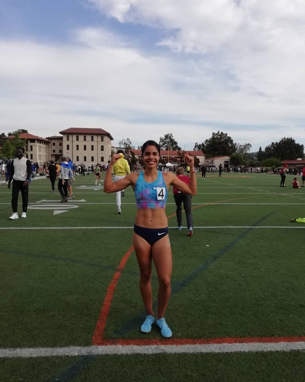 Atleta Mariela Real Crespo con la mira en Tokio 2020