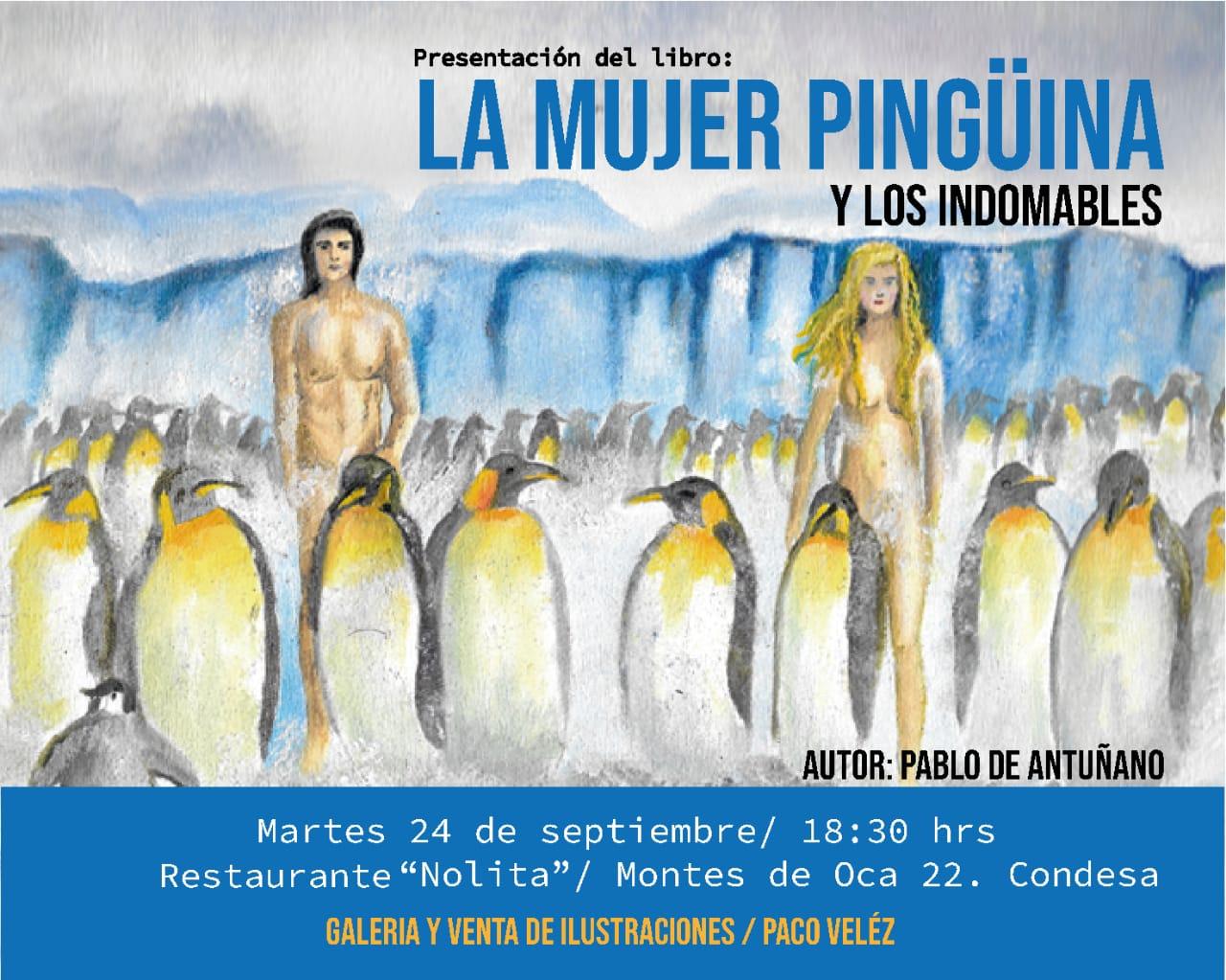 Pablo de Antuñano presenta su 5to libro en la Condesa