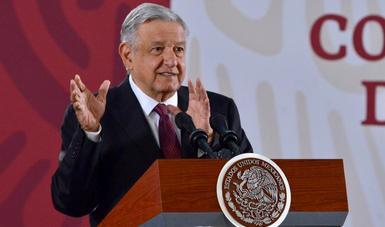 Presidente López Obrador llama a la sociedad mexicana a colaborar en caso Ayotzinapa