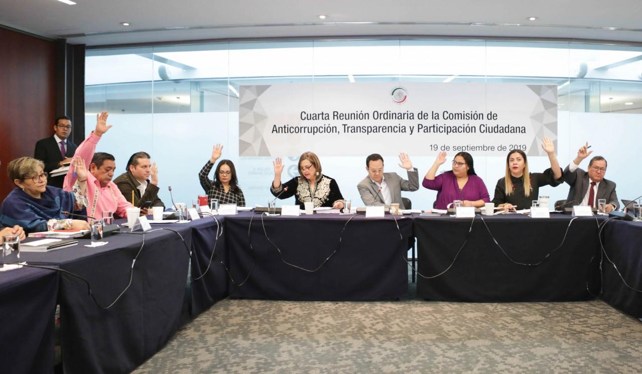 Avalan en comisión iniciativa en materia de transparencia judicial