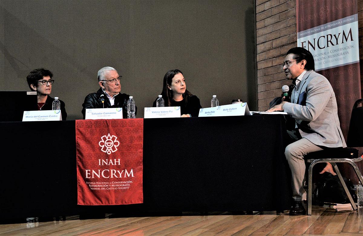 Dialogan en la ENCRyM sobre lecciones dejadas por los sismos de 2017