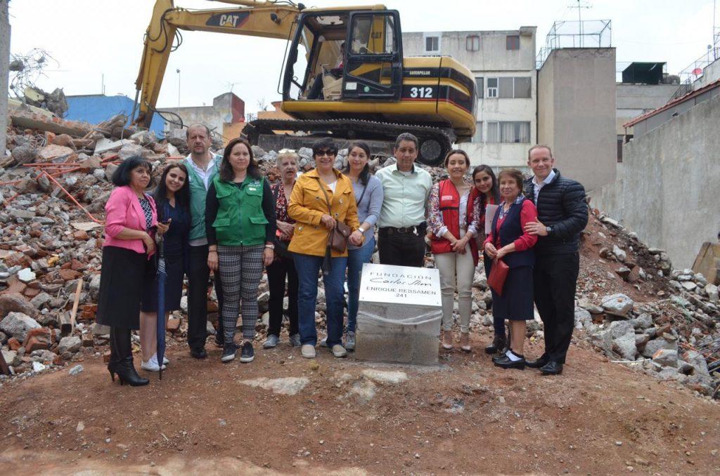 Encabeza alcalde Santiago Taboada inicio de reconstrucción de edificios demolidos en Narvarte