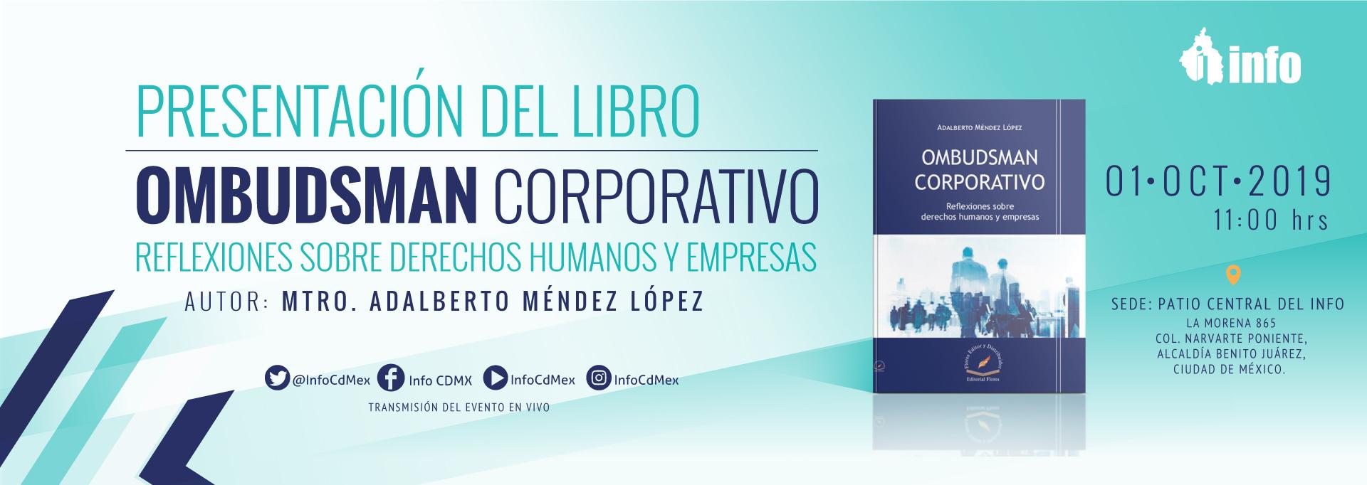 Presentación del Libro OMBUDSMAN CORPORATIVO