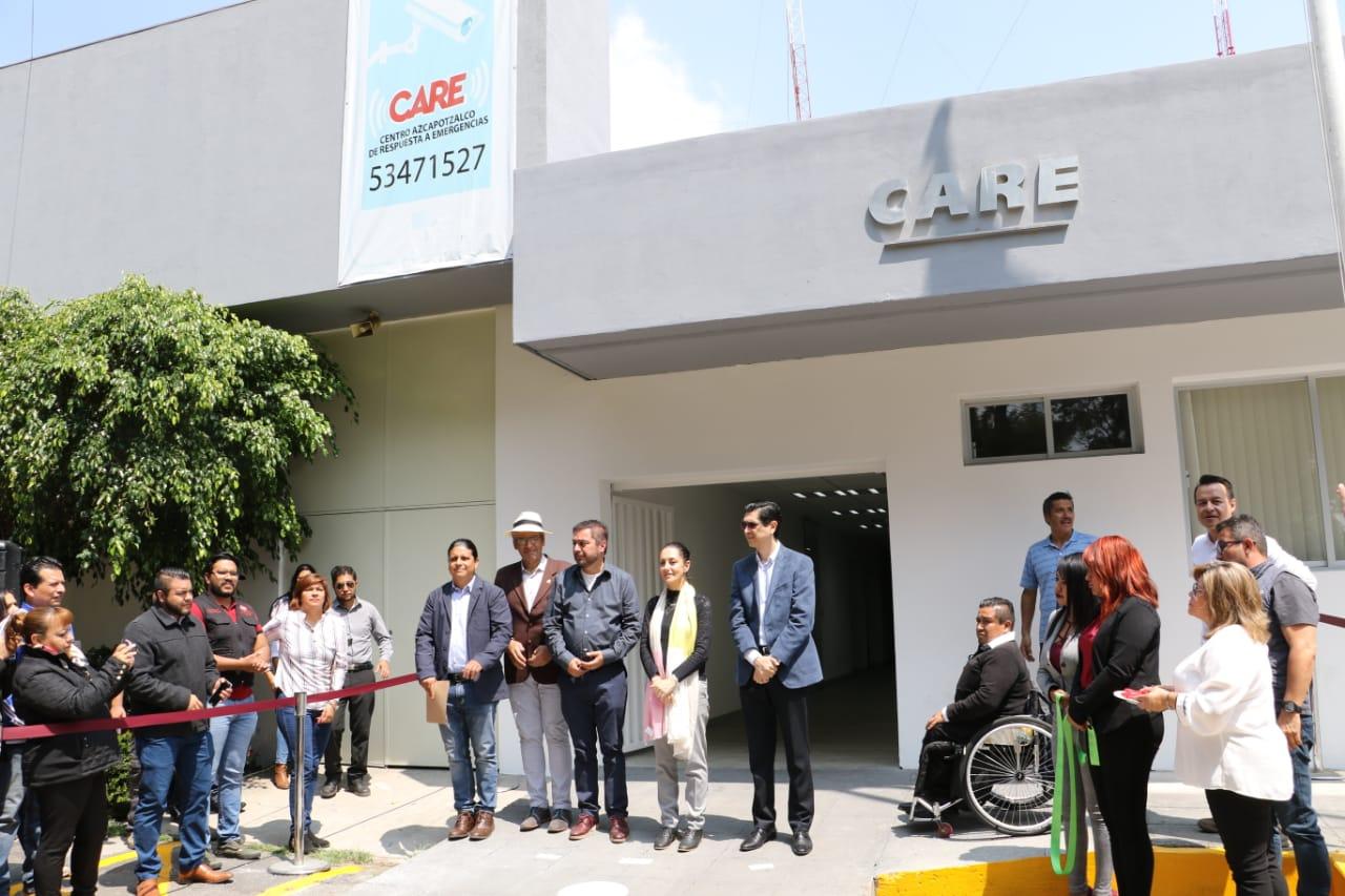 Inaugura Jefa de Gobierno Centro Azcapotzalco de Respuesta a Emergencias