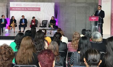 Promueve Sedatu igualdad de género en su programa sectorial